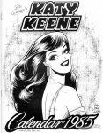 Katy Keene Calendar 1985