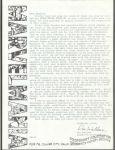 Marvelmania letter