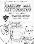 Magnet Man Minicomics #23