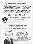 Magnet Man Minicomics #24