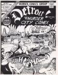 Detroit Murder City Comix #1