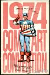1974 Comic Art Convention program book