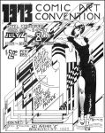 1973 Comic Art Convention flyer