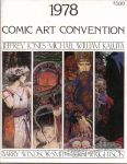 1978 Comic Art Convention program book