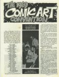1969 Comic Art Convention flyer
