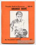Orange Bodé: Vaughn Bodé at Syracuse 1965-66