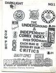 Underground & Independent Comix Index, The #1