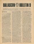 Dallascon Bulletin #09