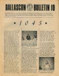 Dallascon Bulletin #10