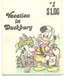 Vacation in Duckburg [1981] #1