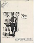 Wayne Manor Bulletin, The #1