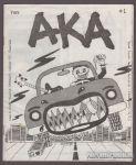 AKA #1 [punk music fanzine]