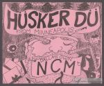 Hüsker Dü flyer by Scott Stevens