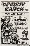 Penny Ranch Price List 1985
