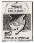 Micro-Comics #110: U.L.E.C. Galactic Handbook of Wanted Criminals #9