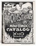 XNO Productions Monstrous Mini Comix Catalog #1