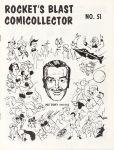 Rocket's Blast Comicollector / RBCC #051