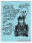 Black Leather Jacket Komix!