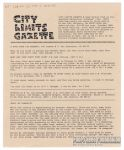 """City Limits Gazette (Willis) January 1992, #Aged Richie Rich on his deathbed whispering \""""Rosebud\"""""""