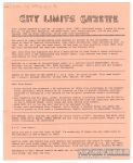 City Limits Gazette (Willis) February 1992, #Look Ma, no brain!