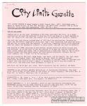 City Limits Gazette (Willis) March 1992, #Jobbo Bonobo's Night Terror