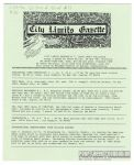 City Limits Gazette (Willis) June 1992