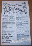 Queer Zine Explosion #12