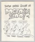 Dogtown Zoo #1 (2nd-3rd)