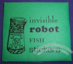 Invisible Robot Fish Stickers