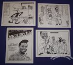 Louis Jordan postcard set