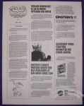 Southwest Society of Comic Creators Newsletter, The July 1995