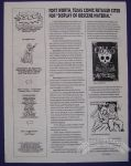 Southwest Society of Comic Creators Newsletter, The October 1994