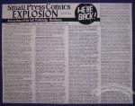 Small Press Comics Explosion Vol. 2, #1