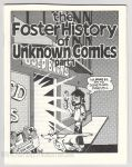 Foster History of Unknown Comics Part 1, The