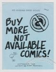 Not Available Comics Catalog September 1983