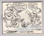 Micro-Comics #128: Tales o' Ted #3