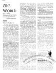 Zine World #20 Supplement