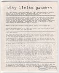 City Limits Gazette (Willis) December 1991, #Feverish clambake