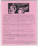 City Limits Gazette (Willis) September 1993, #Harry & Lena ride the Jell-O jitney